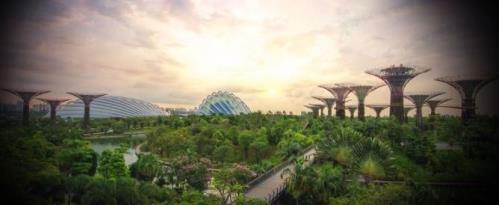 독득함을 담은 싱가포르 건축물
