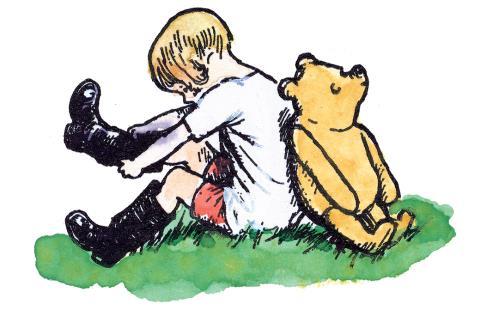 세상에서 가장 귀여운 곰돌이 푸가 전하는 위로와 용기